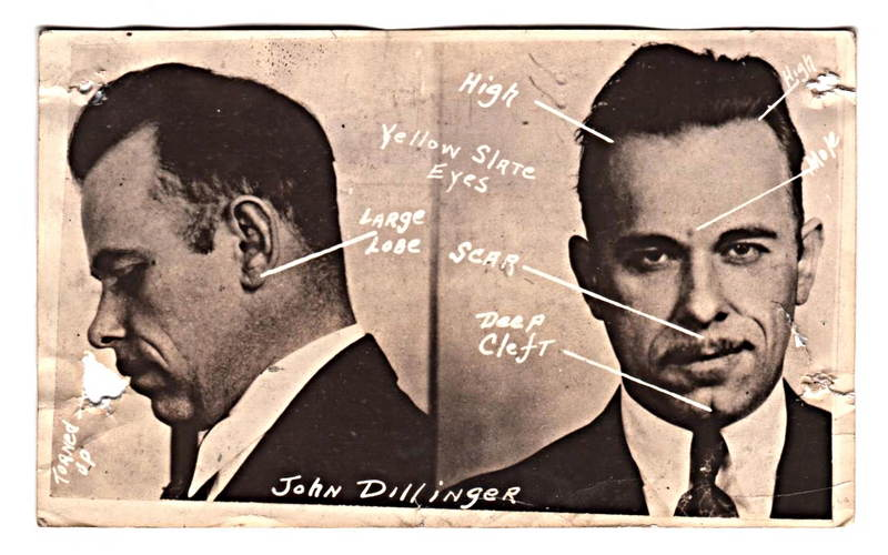 dillinger-facial-features