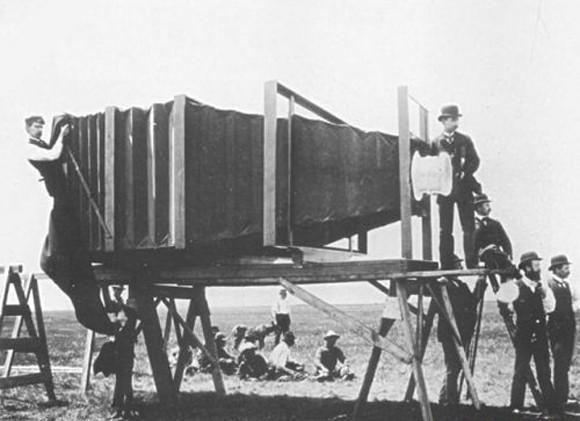 İlk Fotoğraf Makinesi